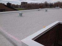 toiture terrasse inaccessible avec une protection par gravillons toitures et couvertures. Black Bedroom Furniture Sets. Home Design Ideas